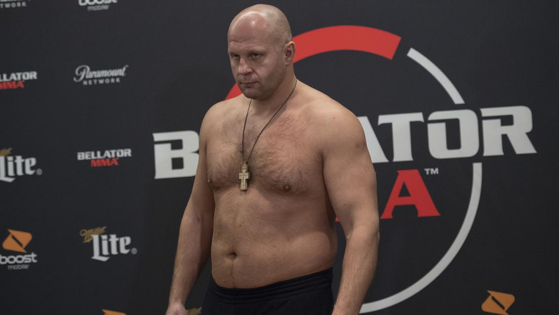 VIDEO: El veterano ruso de MMA Fiódor Yemeliánenko noquea al estadounidense Timothy Johnson en menos de 2 minutos para conseguir su 40.ª victoria