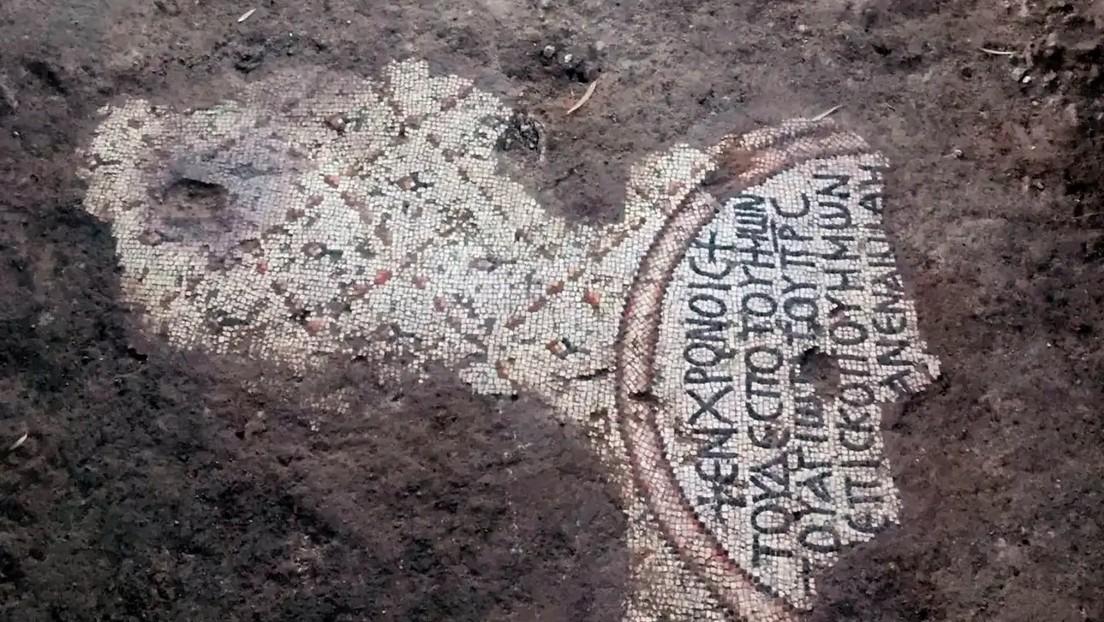 Descubren mosaicos en Israel que podrían ser los pisos de la legendaria iglesia de los Apóstoles (FOTOS)