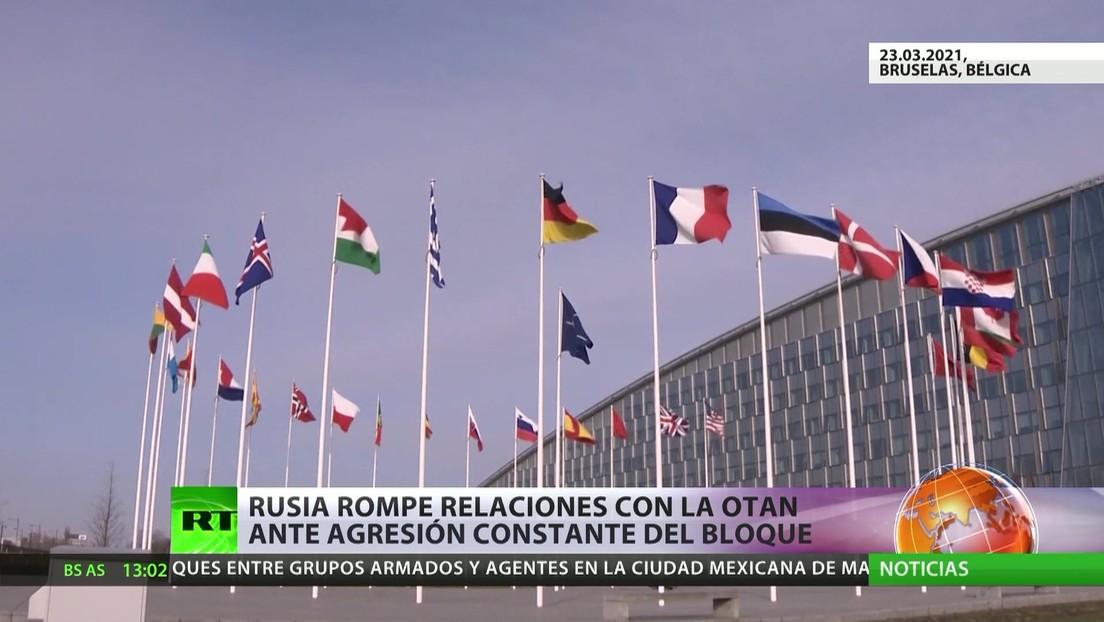 Moscú rompe las relaciones con la OTAN ante las acciones hostiles de la alianza militar