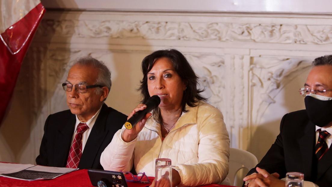 Incluyen a la vicepresidenta de Perú en una investigación por presunto lavado de activos durante las campañas del partido oficialista