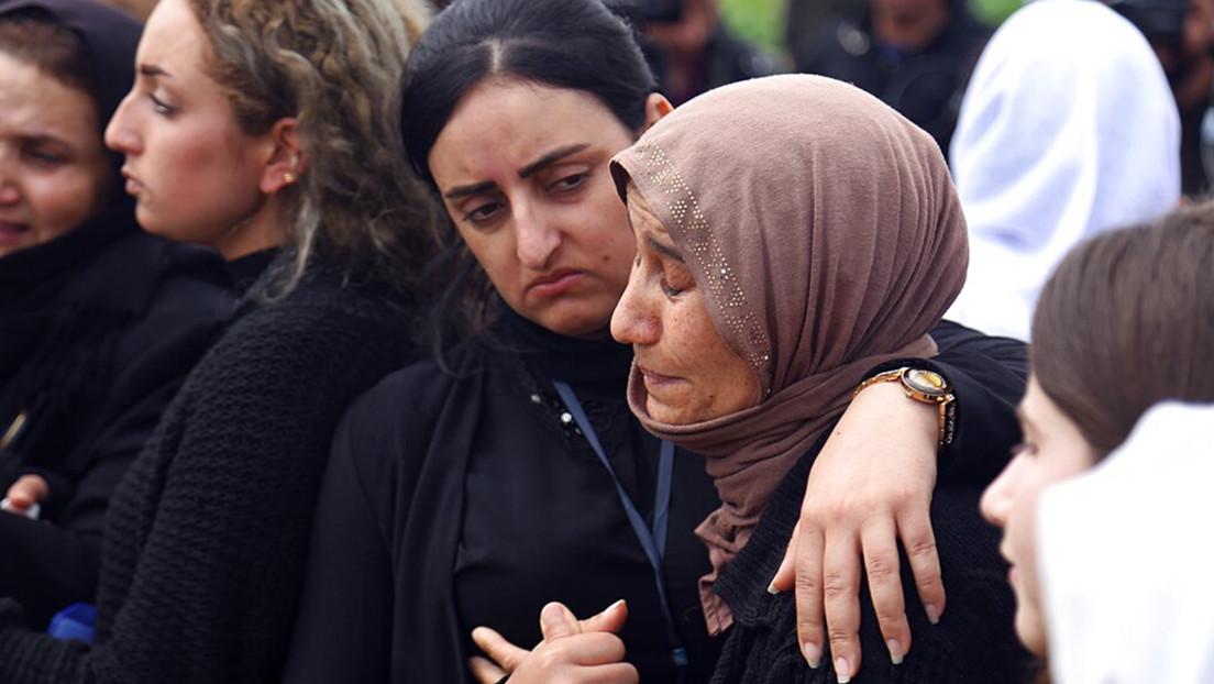 Condenan por primera vez en Alemania a 10 años de prisión a una 'novia del EI' por dejar morir a una niña yazidí