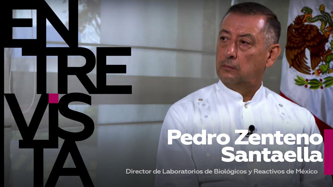 """Pedro Zenteno Santaella, director de Laboratorios de Biológicos y Reactivos de México: """"Es vital tener una vacuna tan importante como la Sputnik V"""""""