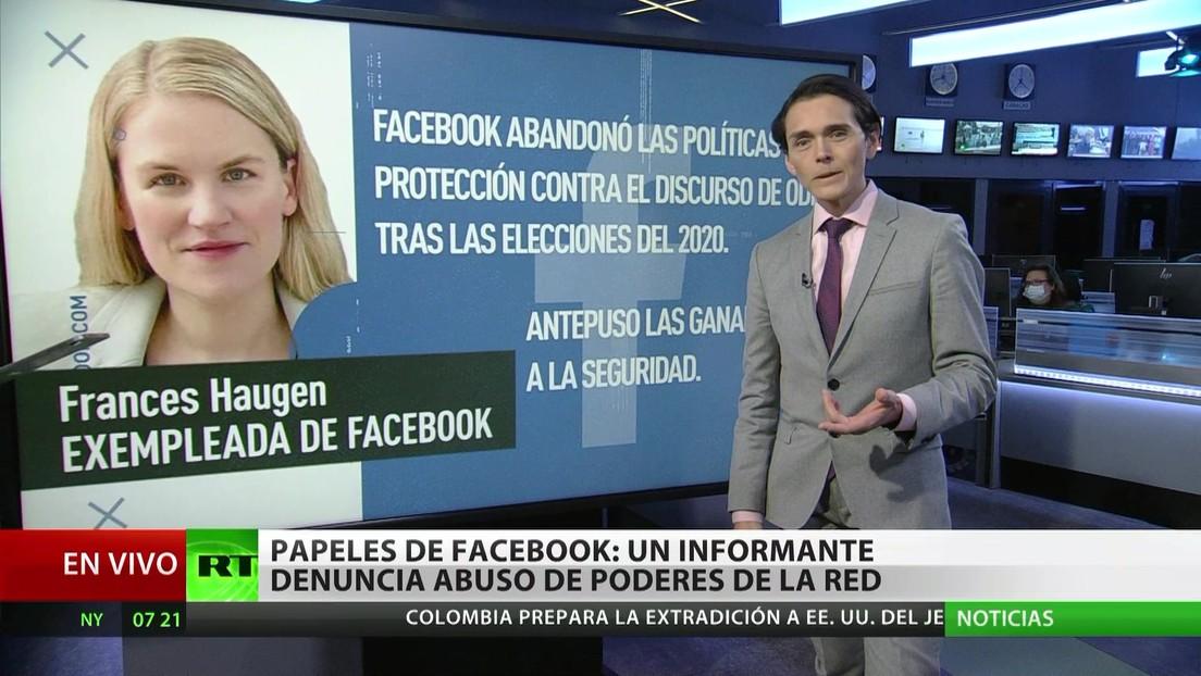 Papeles de Facebook: una informante denuncia el abuso de poder de la red social