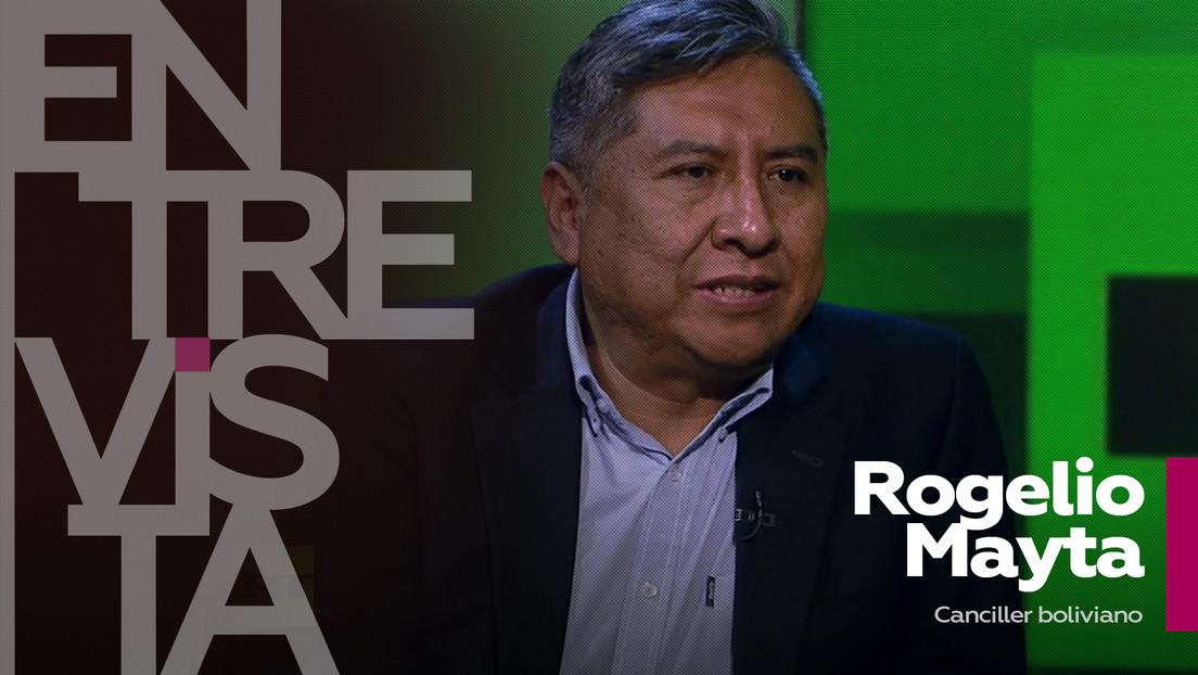 """Rogelio Mayta, canciller de Bolivia: """"Vemos muy positiva la presencia de Rusia en América Latina"""""""