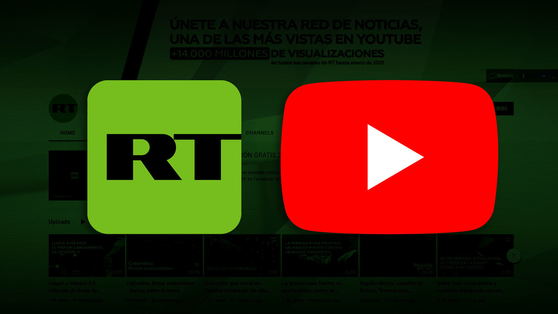 Reconocen al canal de YouTube de RT en Español como el medio de noticias más popular de la plataforma en septiembre