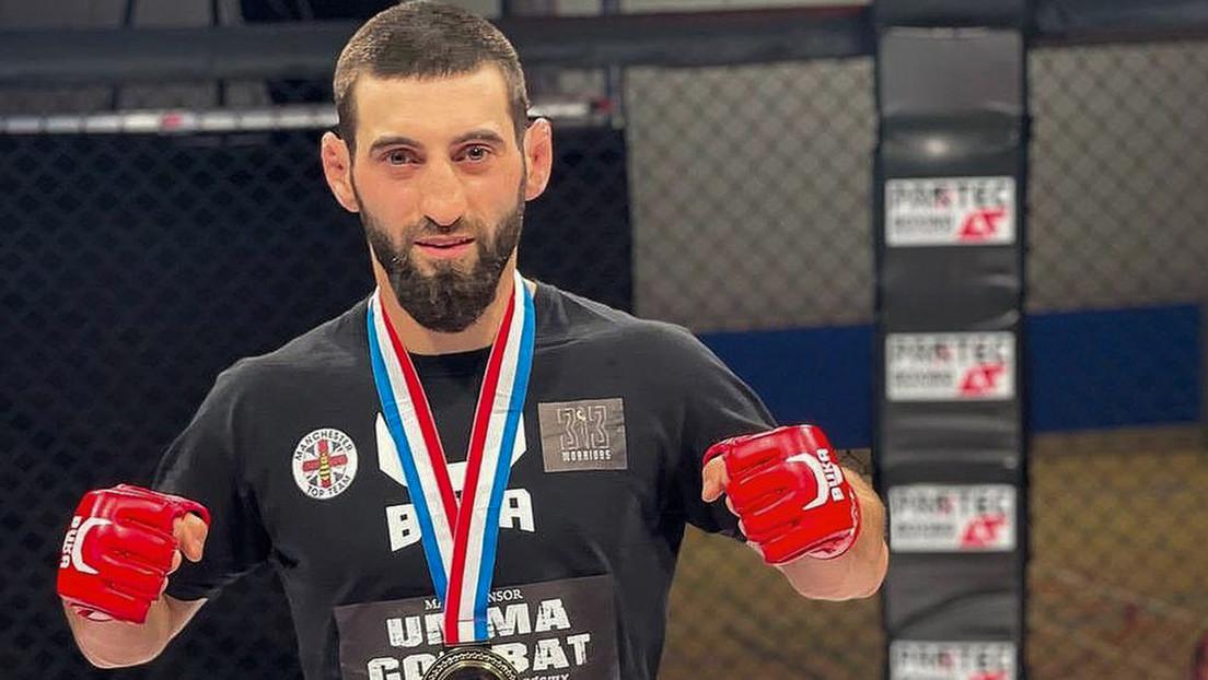 Un luchador ruso novato sorprende a la MMA noqueando a su rival en 5 segundos con una potente patada a la cabeza (VIDEO)