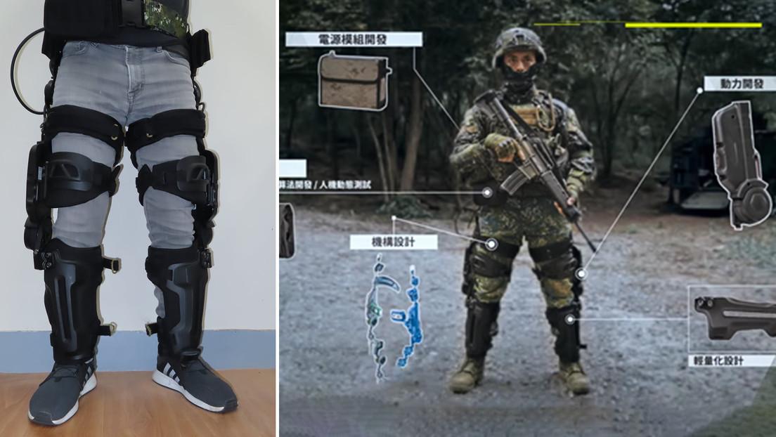 Taiwán desarrolla un exoesqueleto para dar 'superfuerza' a sus soldados
