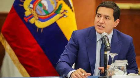 """""""Ecuador ha visto socavada su soberanía bajo el Gobierno de Guillermo Lasso"""": Habla Andrés Arauz, excandidato presidencial"""