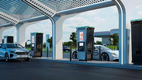 Presentan la estación de recarga más rápida del mundo: cargará al 100 % cualquier coche eléctrico en menos de 15 minutos (VIDEO)