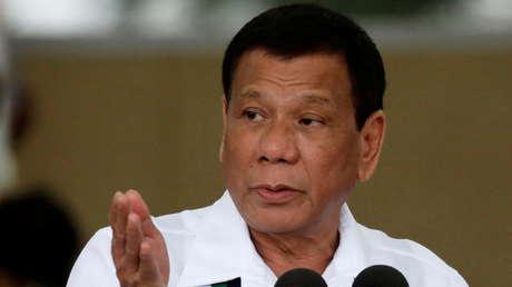 Duterte se retirará de la política tras el fin de su mandato como presidente de Filipinas