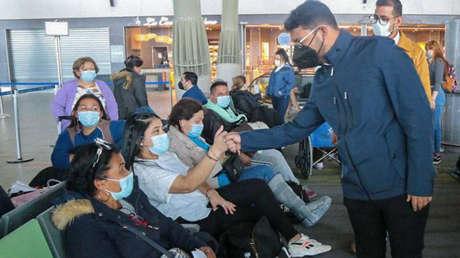 200 venezolanos regresan a su país a través de un plan gubernamental tras el ataque xenófobo sufrido en Chile