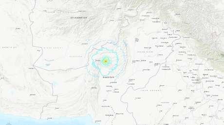 No menos de 20 personas mueren en un sismo de 5,9 en el sur de Pakistán