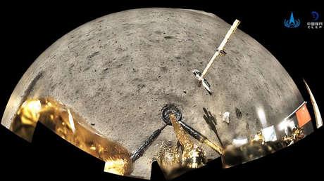 Las más jóvenes jamás halladas: las rocas lunares traídas a la Tierra por la misión china Chang'e-5 tienen casi 2.000 millones de años de antigüedad