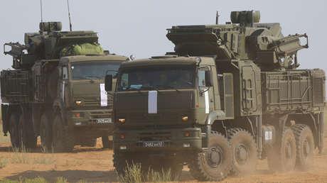 Siria repele un ataque aéreo israelí y destruye 8 de 12 misiles con un sistema de defensa de fabricación rusa