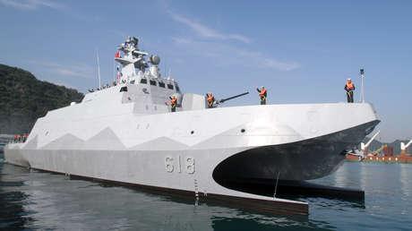 Taiwán comienza a construir la segunda corbeta de la clase Tuo Chiang, que estará equipada con varios misiles, un cañón y una ametralladora