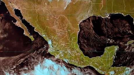 Se forma frente a la costa del Pacífico mexicano la tormenta  tropical Pamela