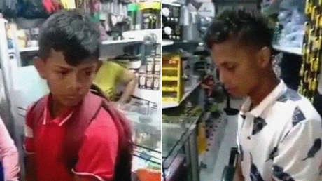 Comerciantes en Colombia acusan de robo a dos adolescentes, los maniatan, los graban en video y luego ambos aparecen asesinados