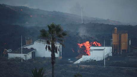 FOTO: La erupción del volcán de La Palma vista desde el espacio