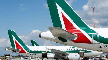 La compañía aérea más grande de Italia realizará este jueves su último vuelo
