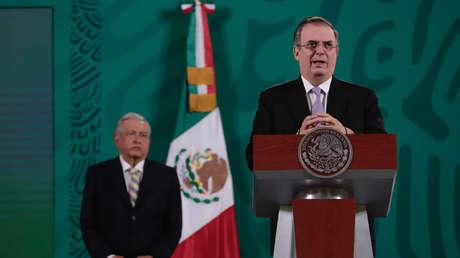 """""""Yo cumplí con mi deber"""": El canciller de México se deslinda de cualquier responsabilidad en el accidente de la Línea 12 del Metro"""