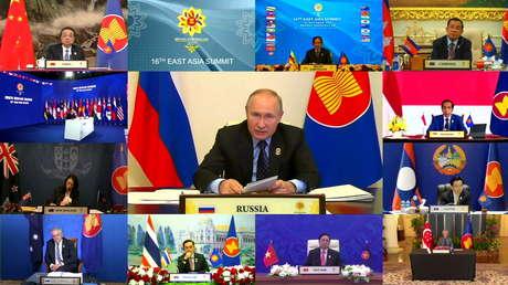 """Putin: La salida de EE.UU. del Tratado sobre Misiles de Alcance Medio implica el riesgo de una """"nueva carrera armamentista"""" en Asia"""