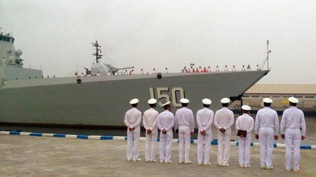 China e Irán se preparan para ejercicios navales conjuntos en el golfo Pérsico