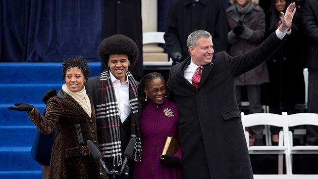 El alcalde de Nueva York aconseja a su hijo afroamericano cómo cuidarse de la Policía