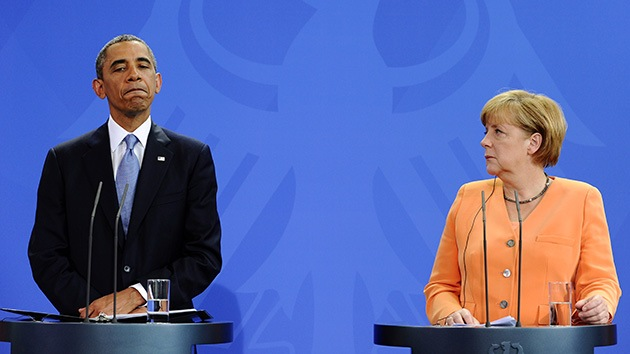 Revelan que Obama ordenó redoblar las escuchas de conversaciones de Merkel