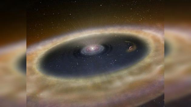 Anillos de polvo cósmico, 'escondite' de planetas rocosos
