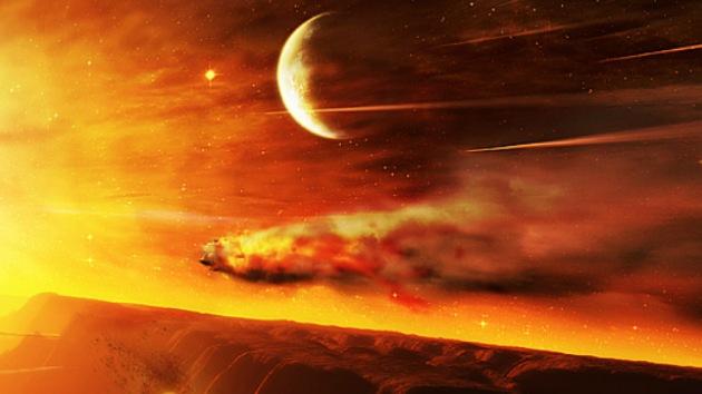 Marte, a tiro de asteroides gigantes