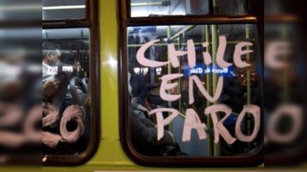 Chile, a punto de iniciar un paro nacional de dos días