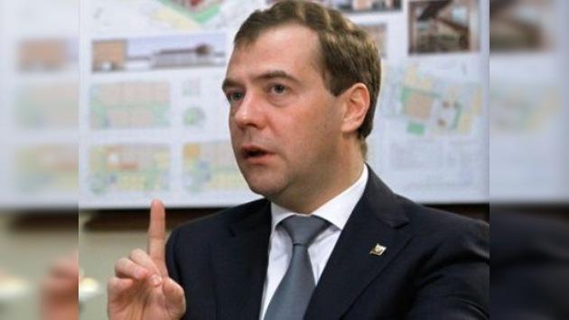 Medvédev comentó el 'fracaso' del multiculturalismo europeo