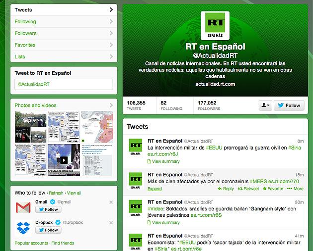 Twitter / RT
