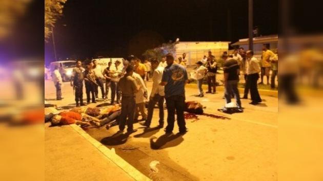 Masacran a ocho personas en una fiesta en Sinaloa