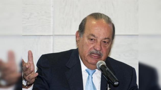 Carlos Slim anuncia una inversión de 8.300 millones en 19 países