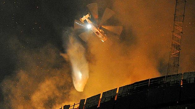 Rusia presenta un helicóptero antiincendios para los rascacielos más altos del mundo