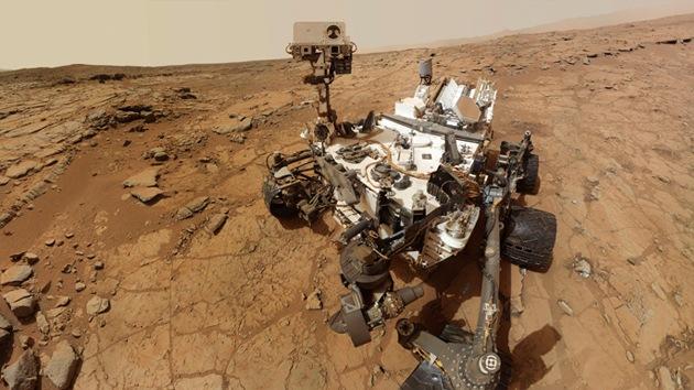 El Curiosity toma su primera fotografía de la Tierra desde Marte