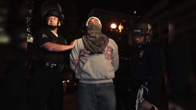 EE. UU.: más de 200 personas de 'Ocupa LA' caen en las garras policiales