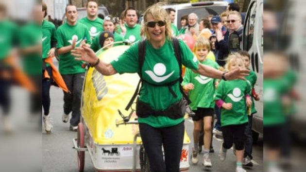 Abuela corre 26 maratones en 26 días