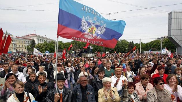 Lugansk pide a Rusia y otros 14 Estados que reconozcan su independencia