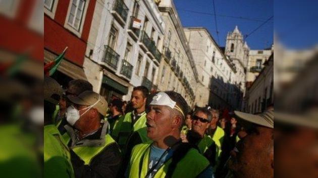 Números rojos: el transporte público de Portugal paralizado por huelgas