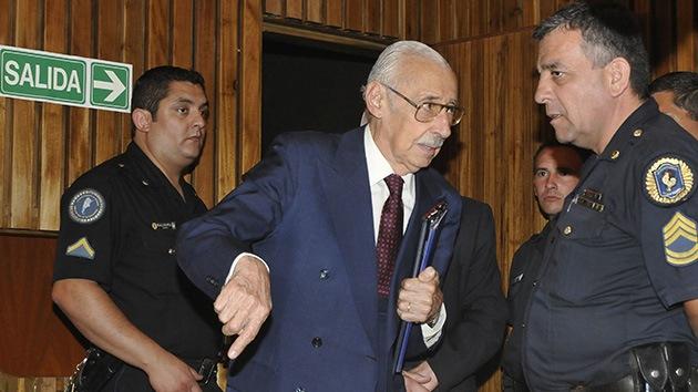 El ex dictador argentino Jorge Rafael Videla ha sido condenado a 50 años más de prisión