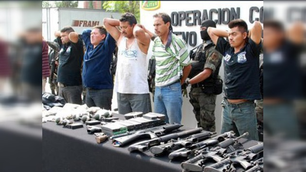 México detiene a sicarios de Los Zetas