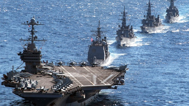 """Maniobras de EE.UU., Corea del Sur y Japón, """"ejercicio de guerra nuclear"""" contra el Norte"""