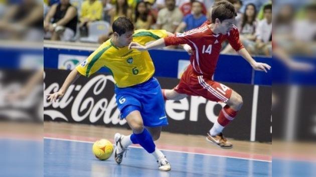 Rusia se adjudica el subcampeonato del Gran Prix de fútbol sala