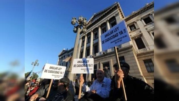 Los diputados uruguayos rechazan la derogación de la 'ley de impunidad'