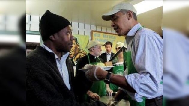 Barack Obama insta a seguir el ejemplo de Martin Luther King