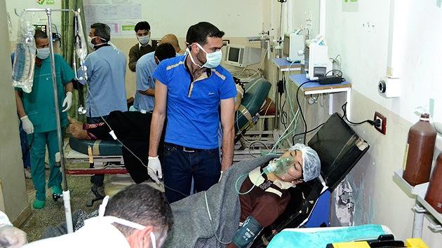 Damasco: EE.UU. participó en los ataques químicos en Siria
