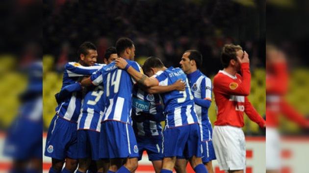 El FC Oporto aplasta al Spartak y se clasifica para semifinales de la Liga Europa