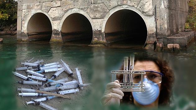 Cocaína y metanfetamina: Las drogas ilícitas contaminan el agua potable de Nueva York
